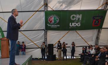 CM se acerca a la UDG para compartir experiencias y un mejor futuro