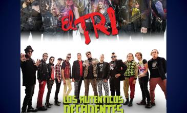 El Tri y Los auténticos decadentes se presentan en Monterrey