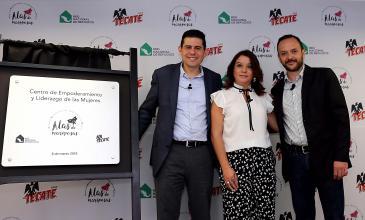 Tecate y RNR inauguran un centro para ayudar a mujeres víctimas de violencia