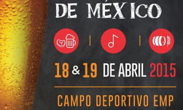 ¡Ya llega el 2º Festival de Cerveceros de México!