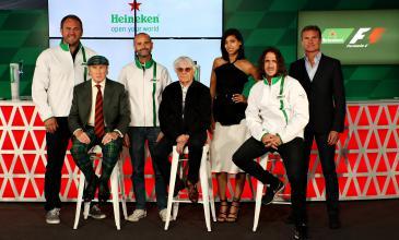 Heineken® compartirá la adrenalina y emoción de la Fórmula 1® con el mundo