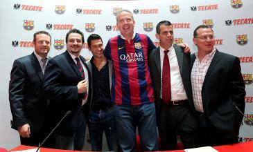 La cerveza Tecate patrocinará al FC Barcelona en México