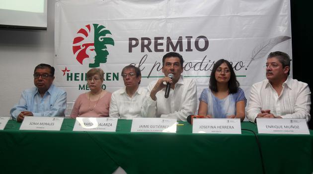HEINEKEN México reconoce el trabajo periodístico en el Sureste del país