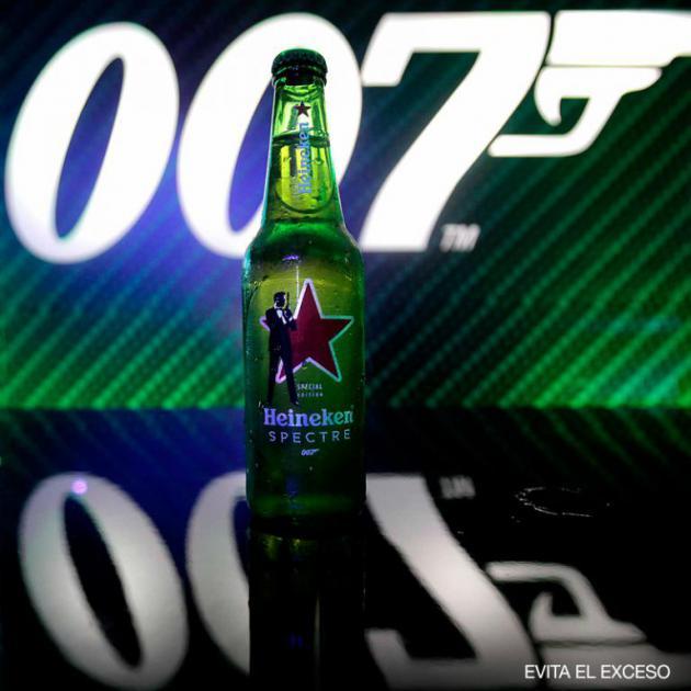 HEINEKEN presenta 007 Spectre con innovadora y sorprendente campaña