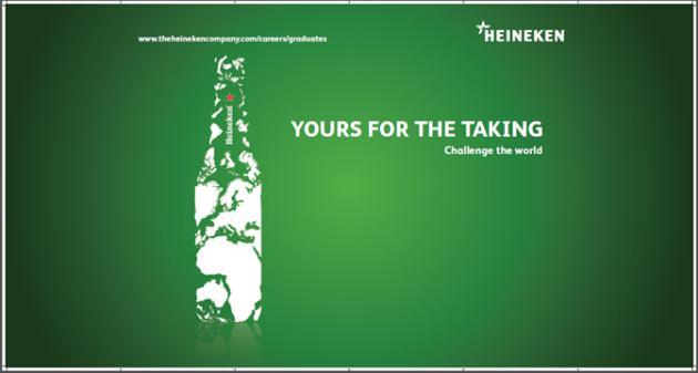 ¡Atrévete a desafiar el mundo formando parte del equipo HEINEKEN!