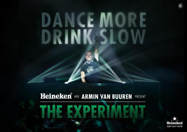 Heineken y el DJ Armin Van Buuren se unen en exitosa campaña