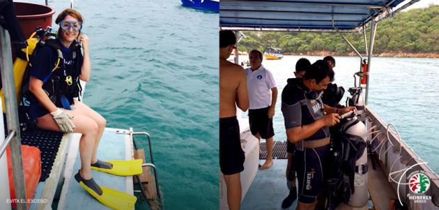 Contribuimos a la limpieza subacuática de la Isla de la Roqueta