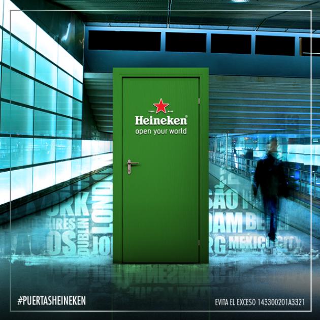 Abre las puertas de Heineken y viaja por el mundo sin salir de México