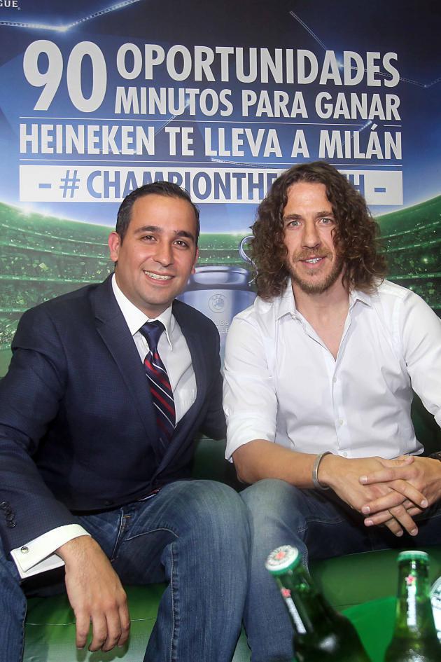 Carles Puyol se suma a Champion The Match y a las experiencias Premium de Heineken®